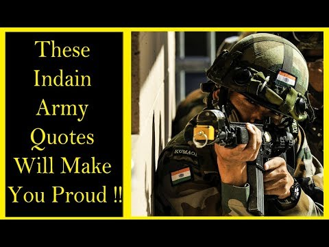 Indian Army Motivational Quotes Will Make You Proud Youtube