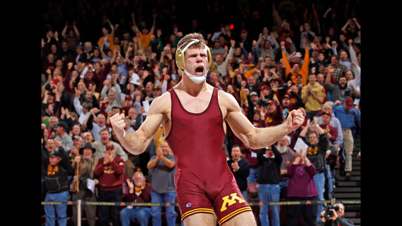 Dylan Ness Pins Cornell's Brian Realbuto, Gophers Earn ...
