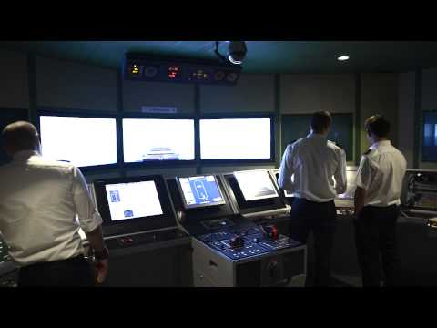 Bridge and Engine Room Simulators - Warsash Maritime Academy