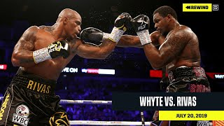 FULL FIGHT | Dillian Whyte vs. Oscar Rivas (DAZN REWIND)
