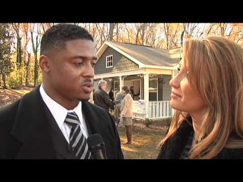 Warrick Dunn 100th Habitat House