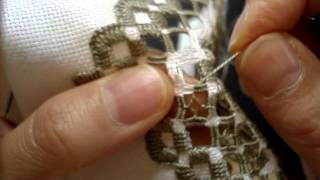 Hardanger Embroidery, Lesson 10 cont