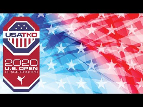 USATKD   US Open 2020   Poomsae   Day 1   ESPN Wide World Of Sports   Walt Disney World