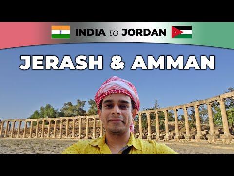 Amman & Jarash: Jordan Travel Vlog