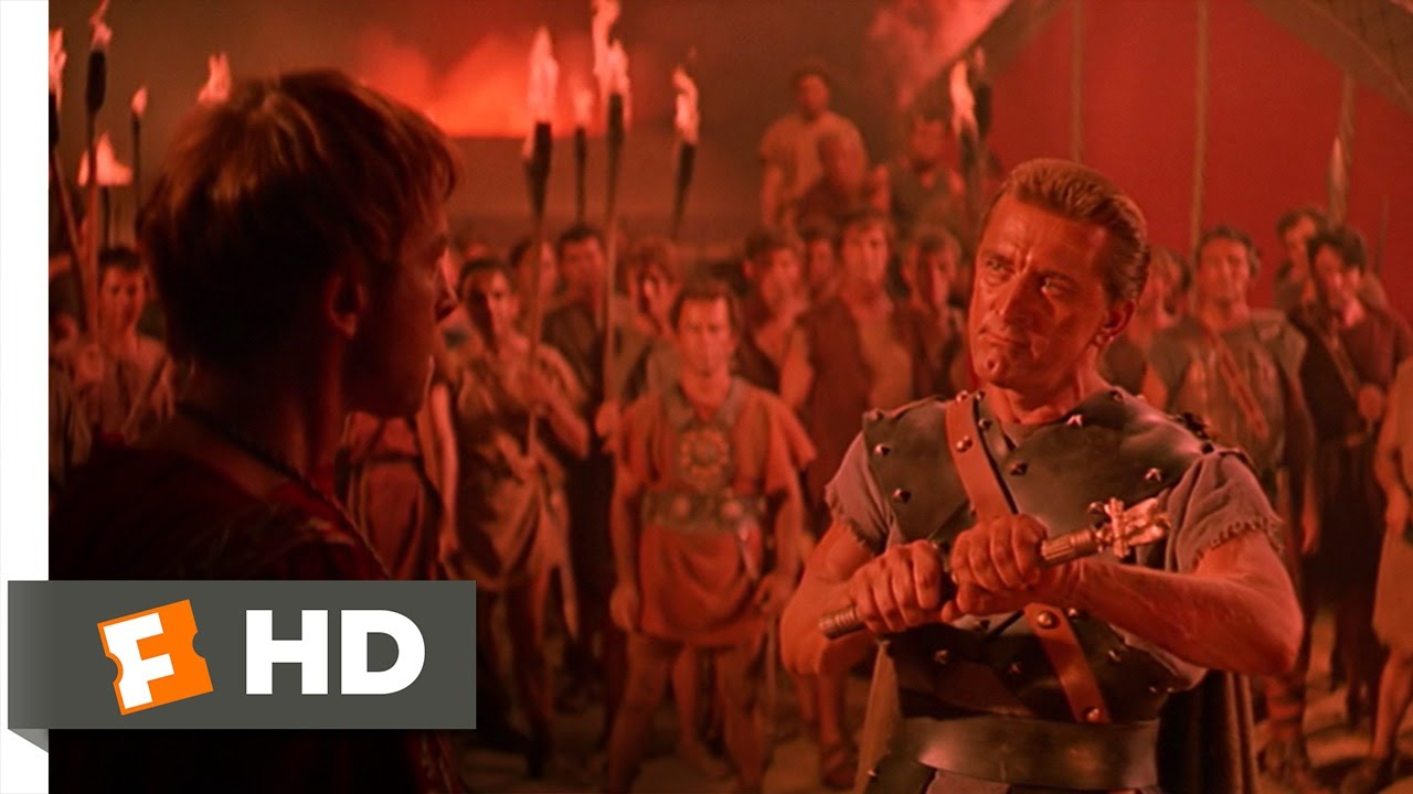 Spartacus (7/10) Movie CLIP - Breaking Glabrus' Power (1960) HD