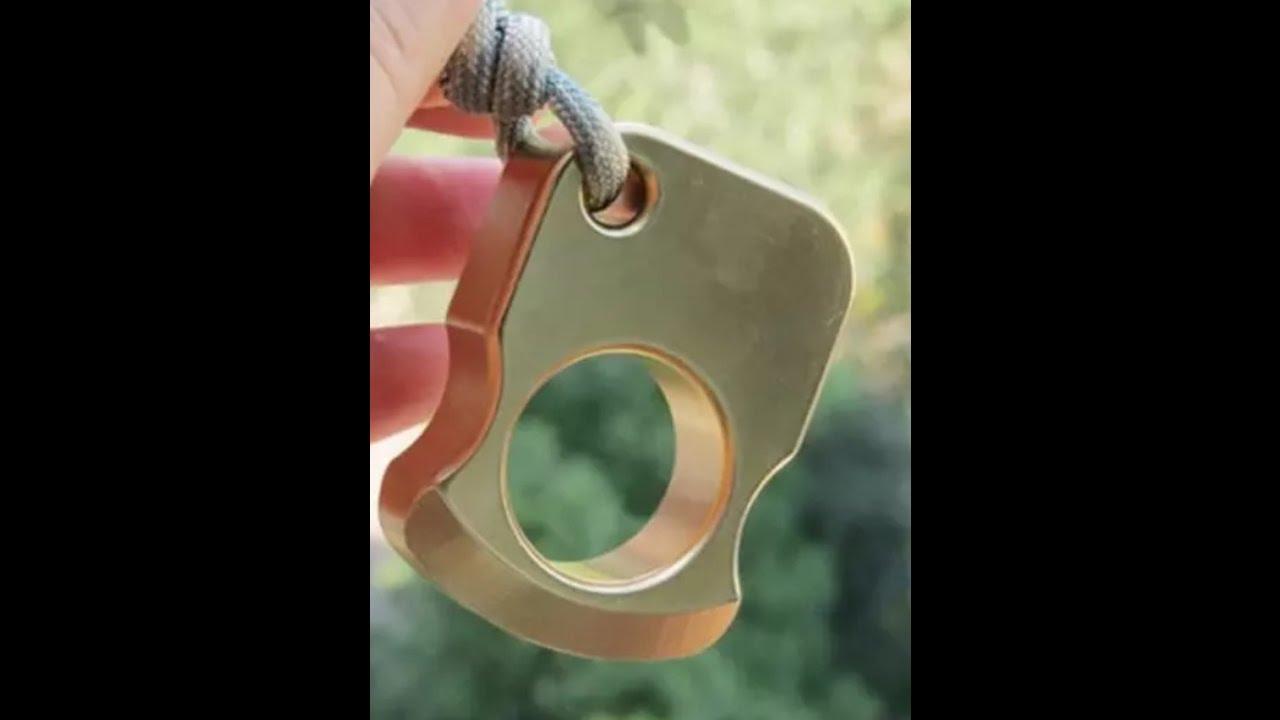 VANE 2 Finger Brass KnuckleRing VANE 2 Finger Brass KnuckleRing new pics