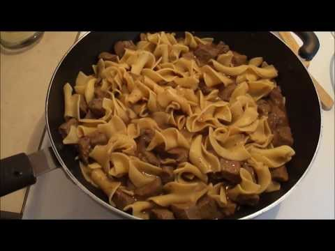 The Best Beef Tips & Noodles Recipe EVER!