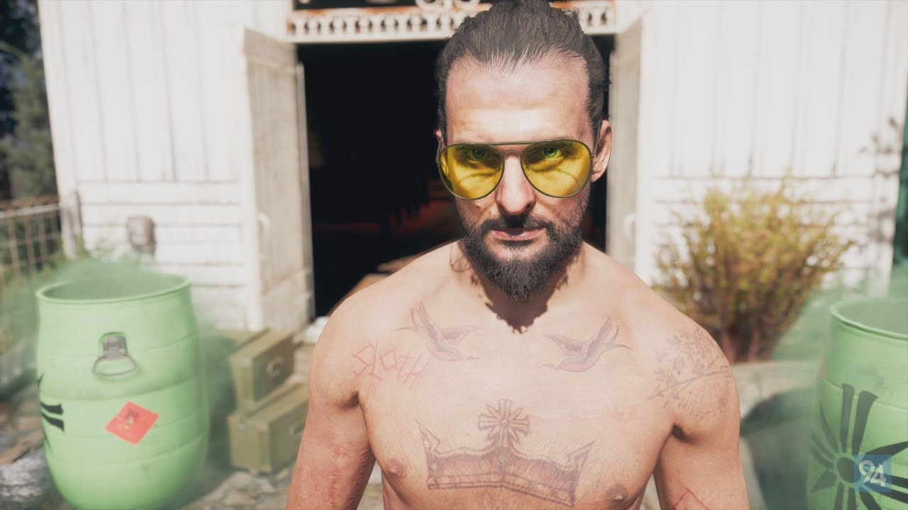 far cry 5 villain actor