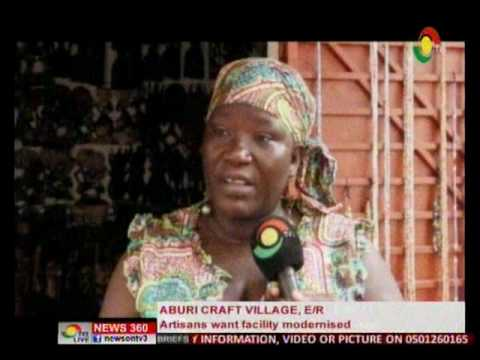 Artisans in Aburi want facility modernised to attract patrons  - 14/8/2016