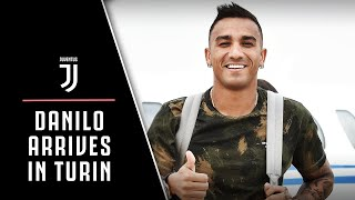 DANILO ARRIVES IN TURIN!