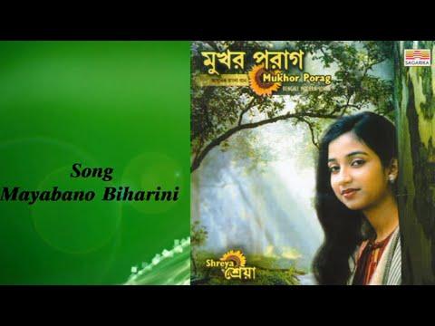 Mayabano Biharini  Bengali Popular Songs  Shreya Ghoshal