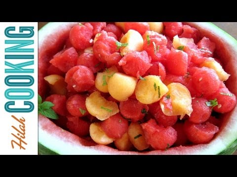How to Make Watermelon Salad | Hilah Cooking