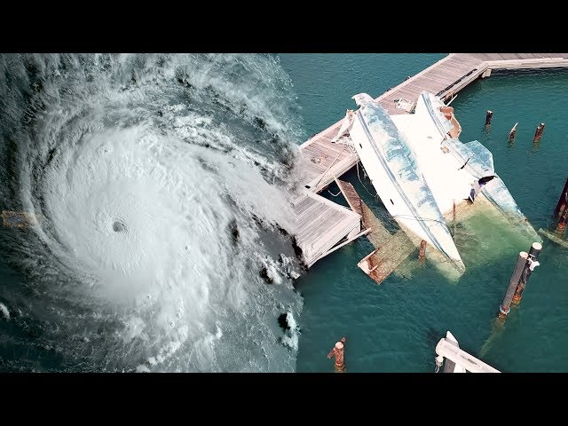 How hurricane Irma devastated Caribbean Island in just few hours. Saint Martin - SailOceans