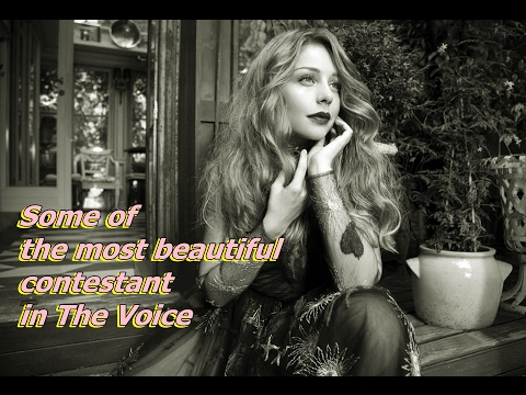 Some of the most beautiful contestant in The Voice