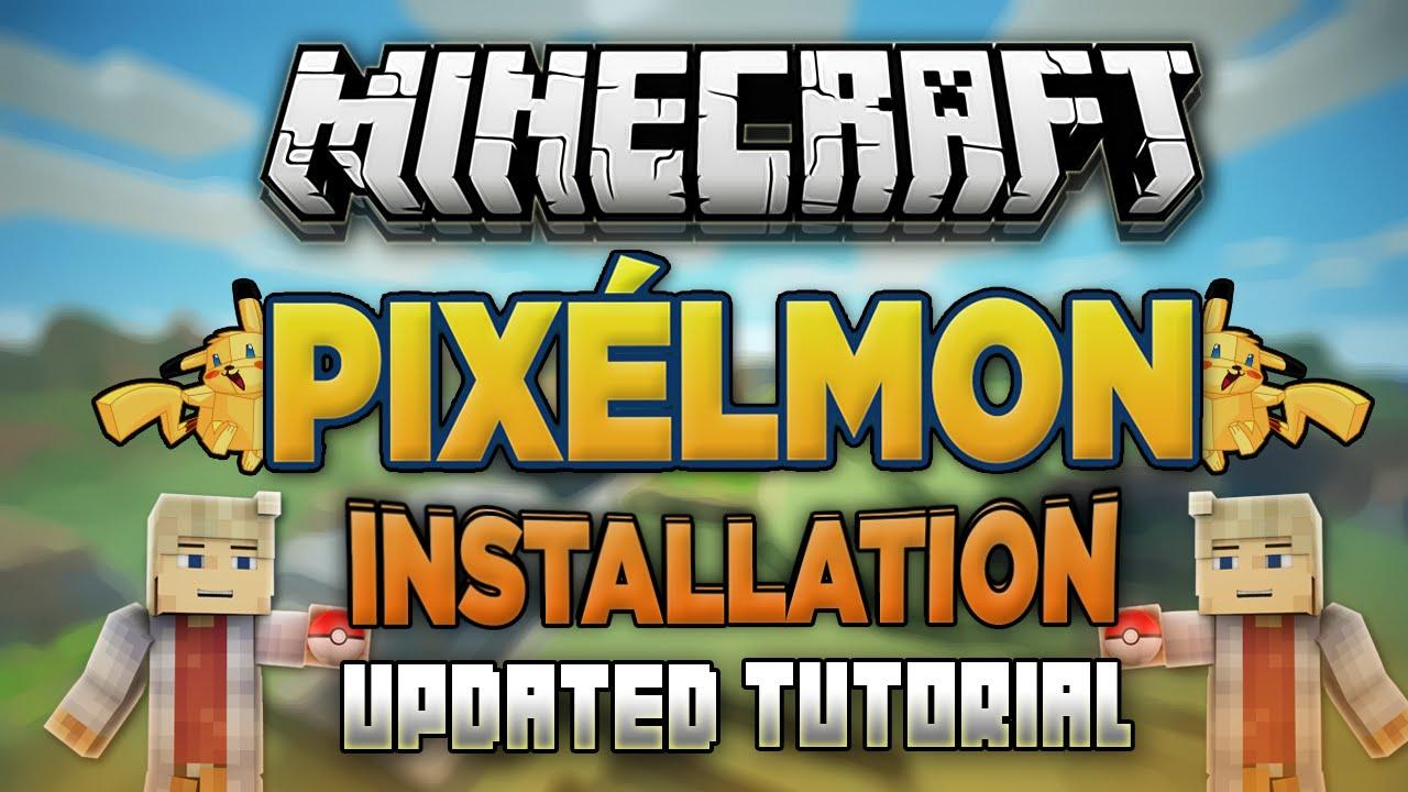 How to Download Install Pixelmon Mod (Pokemon Minecraft Mod