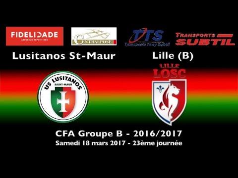 CFA Groupe B, 23ème journée : US Lusitanos vs Lille OSC