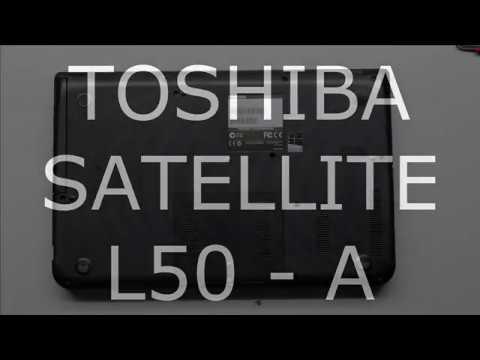 TOSHIBA SATELLITE L50 A Disassembling