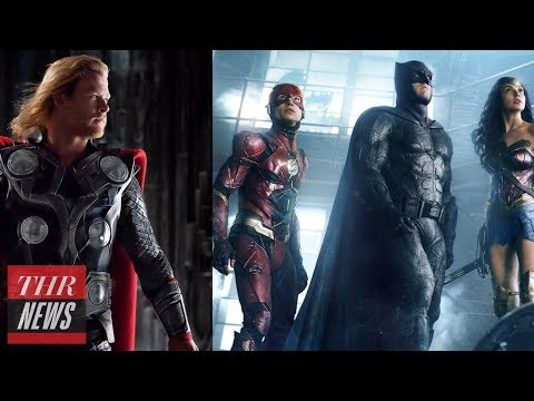 Download Youtube: Marvel vs. DC: Behind Their Fight for Comic Supremacy | THR News