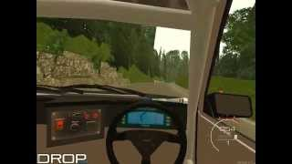 Touge on Gunsau on Toyota Corolla AE86 Levin Coupe (MTA DROP CLUB Server)