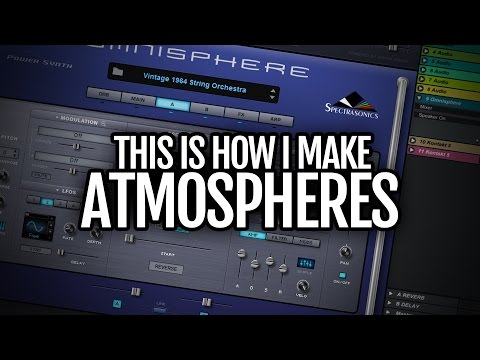 This is how I make pads & atmospheres part 1