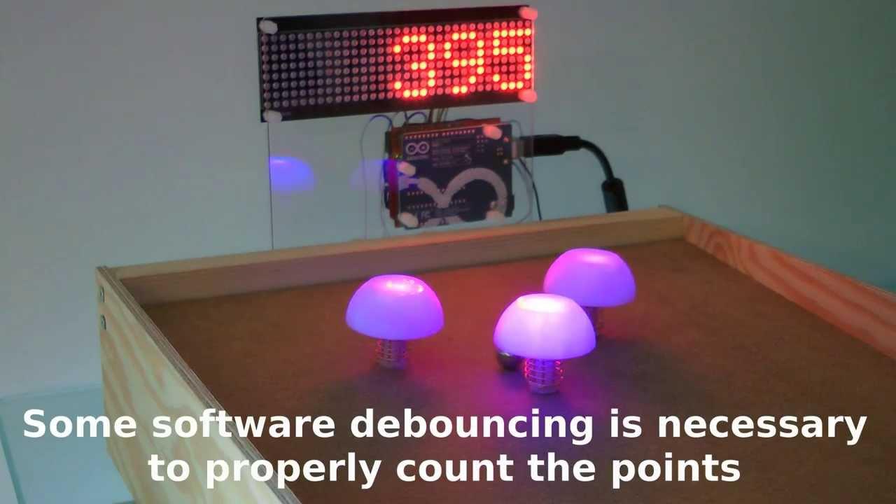 table top scoring machine