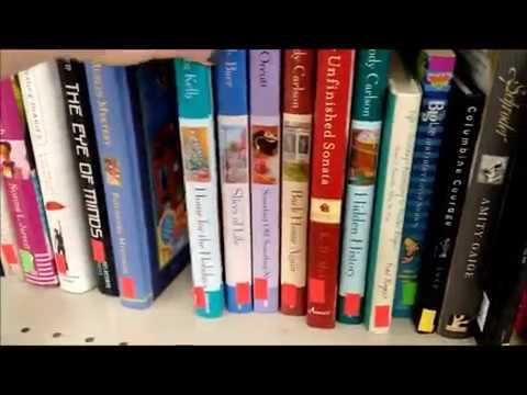 Goodwill Book Haul, Shelf Shopping At The Thrift Store