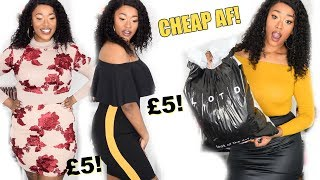 WAIT...EVERYTHING IS £5! TRY ON HAUL! LOTD.COM