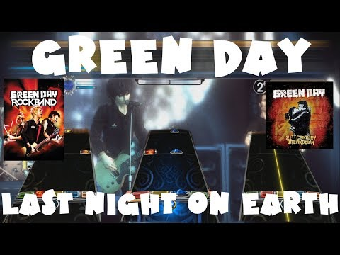 Green Day - Last Night on Earth - Green Day Rock Band Expert Full Band