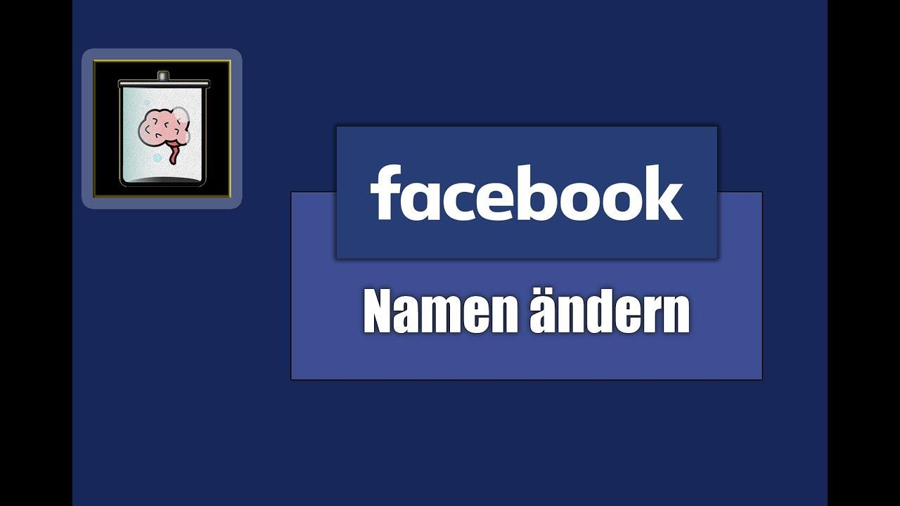 Facebook namen ändern ohne 60 tage warten