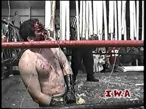 """""""MEAN"""" MITCH PAGE vs. CORPORAL ROBINSON (HOUSE OF HORRORS) (FULL MATCH)"""