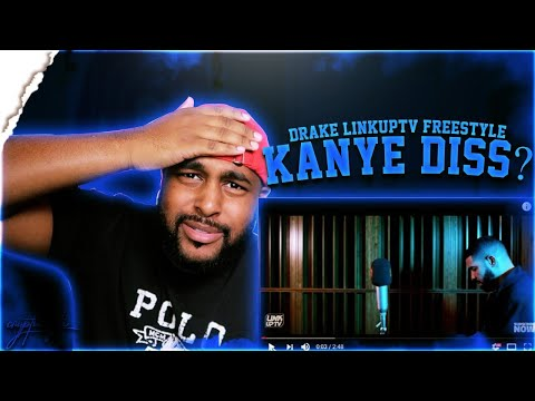 DRAKE - BEHIND BARZ ON LINK UP TV  | HE DISSED KANYE FOR SURE!! | REACTION