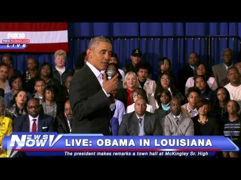 FNN: President Obama Speaks at McKingley High School in Baton Rouge, Louisiana