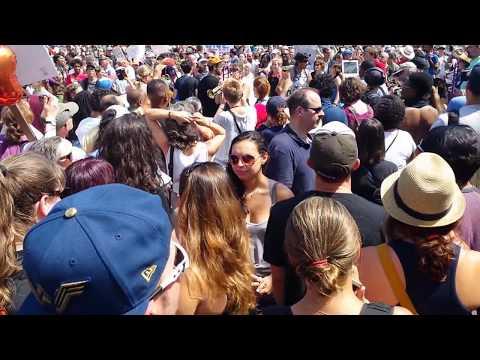 Brass Band @ Boston Common - Protest 8/19/17