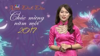Khánh Vy diện áo dài, 'bắn' tiếng Anh như gió khi giới thiệu chương trình Tết