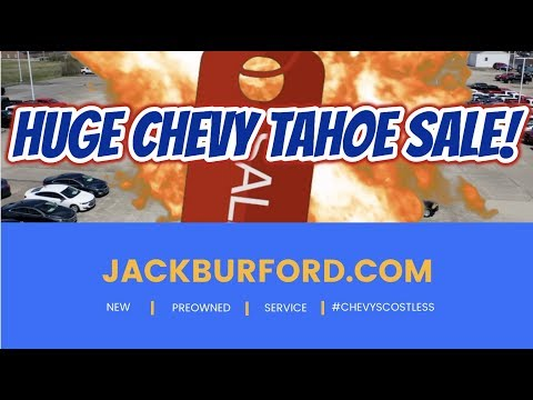 2019 Chevy Tahoes