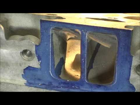 LT-1 Raw Material Removal Part 3.1 SBC Porting