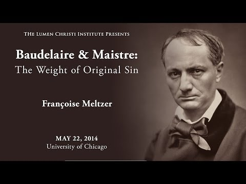 """Baudelaire on Original Sin,"" Françoise Meltzer"