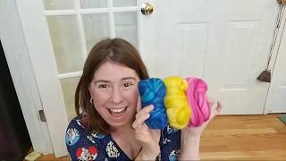 Paradise Fibers March 2019 Fiber Of The Month Club Unboxing LIVE