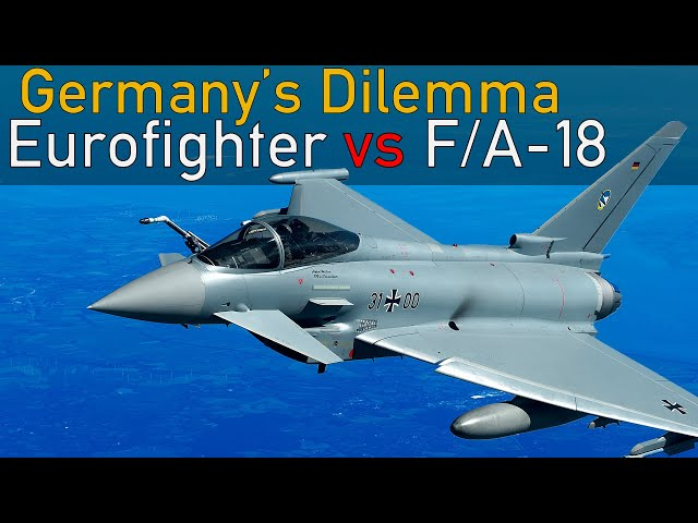 Germany: NEW Eurofighters but NO Super Hornets