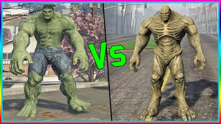 HULK VS ABOMINATION. (GTA V PC MOD SHOWCASE)
