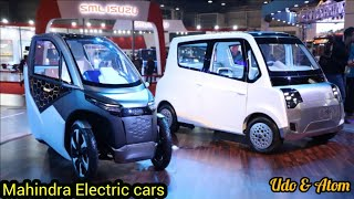 Mahindra New Electric cars || Udo & Atom || Must watch