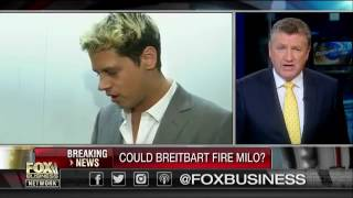 Breaking News: Milo Yiannopoulos Facing Possible Dismissal from Breitbart. Book Cancelled.