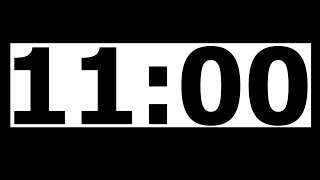 11 Minute Countdown Timer with Alarm