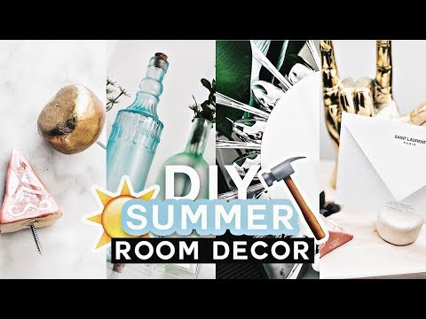 DIY SUMMER ROOM DECOR  ✂ Pinterest Inspired (Cute + Affordable) – Lone Fox