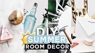 Diy Summer Room Decor  ✂ Pinterest Inspired (cute   Affordable)   Lone Fox