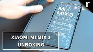 Xiaomi Mi Mix 3 Unboxing & Tour