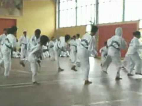 Taekwondo STF,MTA,WTF training At All School Betong Division tkd Part4 thumbnail