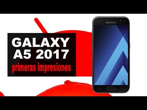 Samsung Galaxy A5 2017 | unboxing y pre review en español streaming vf