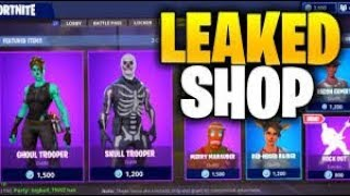 *NEW* FORTNITE ITEM SHOP COUNTDOWN! Novemeber 4 - New Skins! COP OR DROP! Fortnite Battle Royale