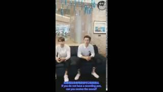160806 Interview in the signing meeting of Infinite Fight in Chengdu [eng sub]